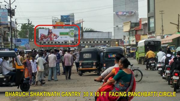 BHARUCH SHAKTINATH GANTRY  30 X 10 FT  FACING PANCHBATTI CIRCLE